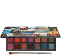 Urban Decay Born to Run Eye Shadow Palette with Brush Sleek Makeup, Nude Makeup, Natural Eye Makeup, Blue Eye Makeup, Eye Makeup Tips, Makeup For Brown Eyes, Makeup Kit, Makeup Ideas, Makeup Hacks