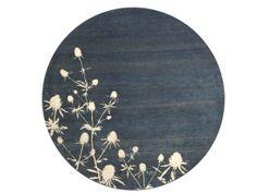 Thistel – blue City Office, Decorative Plates, Carpet, Gallery, Tableware, Blue, Home Decor, Dinnerware, Decoration Home