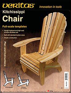 Veritas Kitchissippi Chair Plan Woodworking In 2019