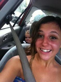 photobombed selfies, the creepy toddler!!