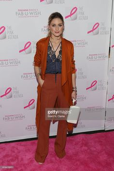 Olivia Palermo attends The Pink Agenda's 2016 Gala held at Three Sixty on October 13, 2016 in New York City.