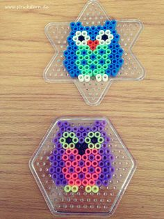 Bügelperlen Eule Mehr Best Picture For plastic Beading For Your Taste You are looking for something, and it is going to tell you exactly what you are looking for, and you didn't find that picture. Perler Bead Designs, Perler Bead Art, Melty Bead Designs, Melty Bead Patterns, Hama Beads Patterns, Beading Patterns, Pearler Beads, Fuse Beads, Hamma Beads Ideas