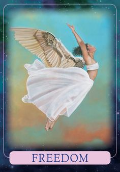 Oracle Card Freedom | Doreen Virtue - Official Angel Therapy Website