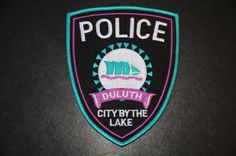 Duluth Police Patch, St. Louis County, Minnesota (Vintage)