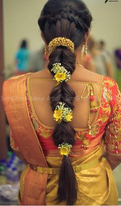 ideas hair black color makeup tutorials wedding engagement hairstyles 2019 - wedding and engagement 2019 Bridal Hairstyle Indian Wedding, Bridal Hair Buns, Bridal Hairdo, Indian Bridal Hairstyles, Braided Hairstyles For Wedding, Hair Wedding, Wedding Shoes, Braided Updo, Wedding Rings