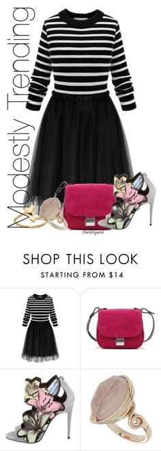 """""""Today's Trends - Modestly Done"""" by burlsgurl ❤ liked on Polyvore featuring Proenza Schouler, Pierre Hardy, Topshop and Alex and Ani"""