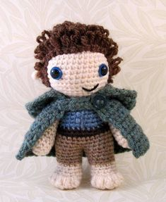 Hobbit  I've always wanted to make some of these. They're so cute!