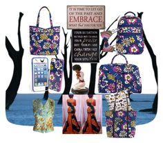 """Embrace"" by amandha88 on Polyvore featuring Vera Bradley, Chá com Letras, PilyQ, Hermès, women's clothing, women's fashion, women, female, woman and misses"