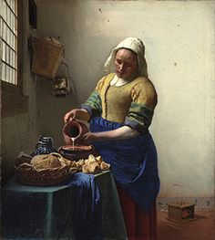 Johannes Vermeer (1632–1675) and The Milkmaid