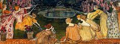 L'eau mystérieuse, 1911Swiss Painter  Ernest Bieler