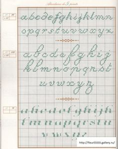 """Valerie Lejeune, Mango Pratique, """"Repertoire des Alphabets"""""""