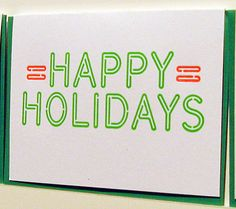 a. favorite Happy Holidays Card