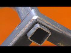 ¡Pocas personas conocen este secreto de un tubo perfilado! ¡Hazlo tú mismo! - YouTube Welding Tips, Welding Table, Metal Welding, Metal Bending Tools, Metal Working Tools, Metal Projects, Welding Projects, Metal Fabrication Tools, Metal Shop