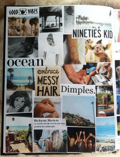 Idea for a scrap book of who I am and my interests and things that make me :)