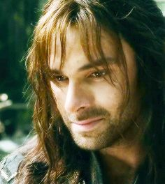He looks ready to cry. Don't cry Kili!