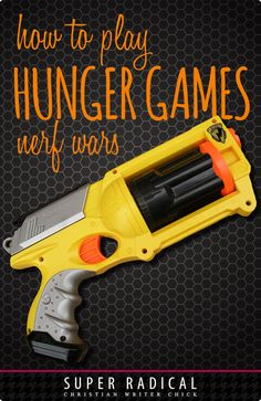 Playing Hunger Games Nerf Wars is a great way to take a cult classic movie and have a little fun with your family. Collect ammo and guns, but this blog gives some more tips and rules for playing. May the odds be ever in your favor!
