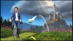 In bici con Renzi