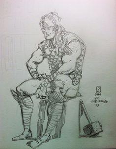 Thor pin-up