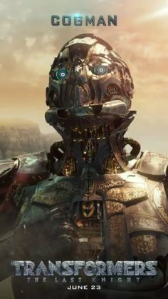 Cogman in Transformers: The Last Knight promotional motion poster