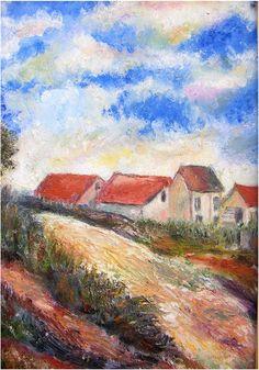 ზეთი, მუყაო (48/32) Oil Painting For Sale, Artist Painting, Paintings For Sale, Oil Paintings, Monet, Online Art Gallery, Style, Oil On Canvas