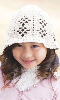organic cotton hat (crochet diagram)