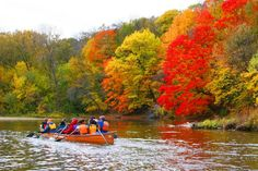 canoeing the Mississippi with Wilderness Inquiry