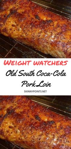 Old South Coca-Cola Pork Loin - #weightwatchers #weight_watchers #Healthy #Loin #Coca-Cola #skinny_food #Pork #recipes #smartpoints