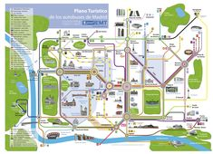 tourist map of madrid - Google Search