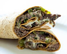 Philly Cheesesteak Wrap | Real Food by Dad