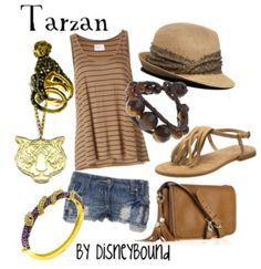 Tarzan. I love Disney bound!!