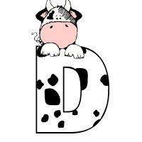 пр Monogram Alphabet, Alphabet And Numbers, Cow Clipart, Miniature Cows, Cowboy Birthday, Paper Snowflakes, Farm Party, Letter Set, Dena