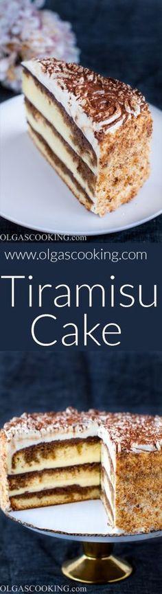 Tiramisu Cake Tiramisu cake Classic desserts and Tiramisu