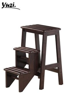 "Folding Step Stool - Cappuccino(24"") 