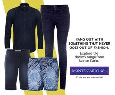 Denim will never go out of fashion! Pick your all time favorite denim apparels from Monte Carlo.