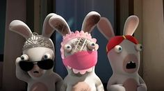 Rabbids Invasion - Raving Chicken - Plunger Rabbids - Rabbid Snob - YouTube