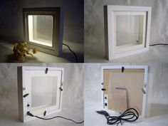 LED Light Box Frame, Art-terrarium.