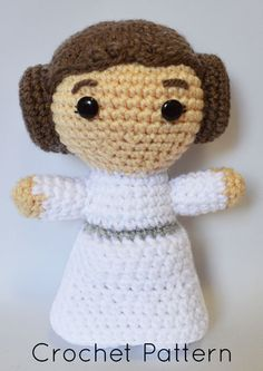 Princess Leia Star Wars Inspired Crochet Pattern