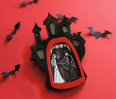 Dracula. Brooch or Necklace by LaliBlue