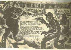 Theatre of hate westworld lyric poster