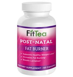 GET BACK YOUR PRE-BABY BODY WITH THIS POSTNATAL FAT BURNER! Safely increase your metabolism, burn fat, and even increase milk production.