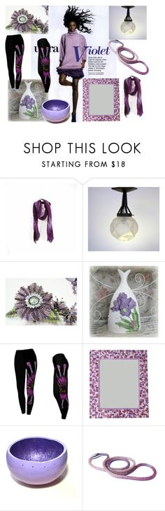 Ultra violet! by colchico on Polyvore featuring мода and vintage