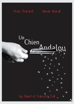 Un Chien Andalou (1929) 5 de 5 Director: Luis Buñuel Cool Posters, Movie Posters, Director, Plans, Vintage Books, Good Movies, Book Covers, Cinema, Type