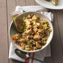 Marokkanischer Hähnchensalat