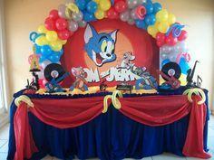 Tom & Jerry Birthday Party Ideas | Photo 12 of 13