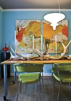 Local Color - eclectic - dining room - orlando - Catherine Sands