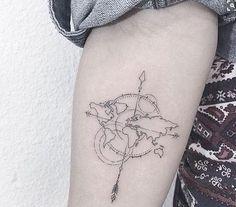 Znalezione obrazy dla zapytania tatuaż róża wiatrów