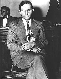 Richard Bruno Hauptmann was convicted of kidnapping and murdering the 20-month-old son of famous aviator Charles Lindbergh. The kidnapping took place on March 1, 1932, and the baby's dead body was found a few days later near the Lindbergh mansion. Hauptmann was arrested in 1934, and after a sensational trial, Hauptmann was found guilty and electrocuted in 1935.
