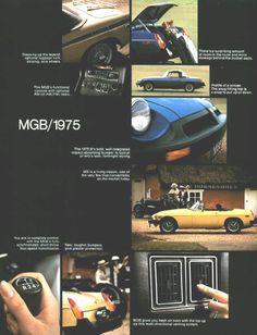 The year black bumpers first appeared: 1975 Nanjing, Shanghai, Automobile, British Car, Mg Cars, Morris, Le Site, Bucket Seats, Garages