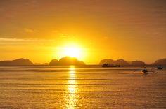Sunsets at El Nido, Palawan. January 2015. (Photo taken by CDSNadal)