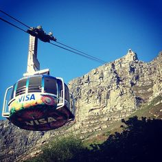 If you aren't a hiker, take the cableway to the top. Table Mountain Cableway in iKapa, Western Cape Port Elizabeth, Table Mountain, Online Tickets, Cape Town, Places To Visit, Hiking, Top, Travel, Walks